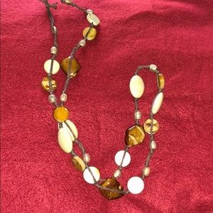 Jewelry - Rock and Bead Necklace
